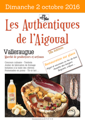 les authentiques de l'aigoual-2016, 18eme édition à valleraugue