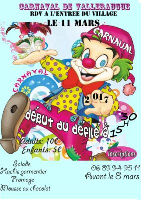 carnaval valleraugue 2017