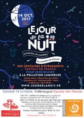 Affiche Jour de la Nuit 2017 valleraugue